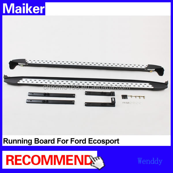 Aluminium alloy Running boards for Ford Ecosport car Side step bar auto running board 4x4 accessories from Maike