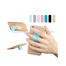 Silicone Ring Holder Finger Grip Mobile Phone Holder, Push-pull Phone Holder