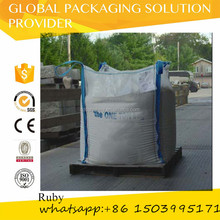 Cement / Concrete polypropylene sand 1 Ton Bulk Bags / Flexible Intermediate Bulk Containers