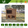 High quality fashion large wooden luxury rabbit cage for garden use