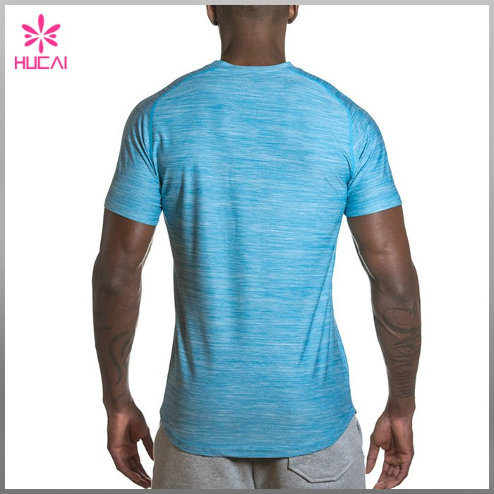 High quality OEM T-shirts Compression sports bodybuiding mens gym clothing