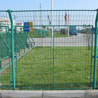 various types of welded wire mesh fence