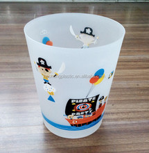 silk screen printing new plastic dustbin without cover