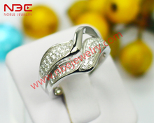 Women wholesale band ring, 925 sterling silver band ring jewelry, wax micro pave setting