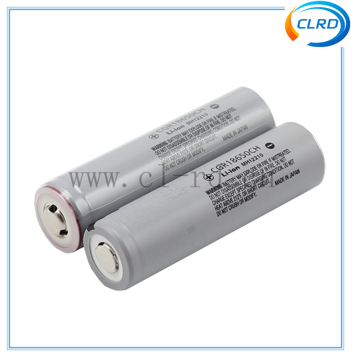 18650 CGR18650CH 2250mAh High Discharge Button Top protected CGR 18650 CH 2250mAh 10A discharge li-ion battery in stock