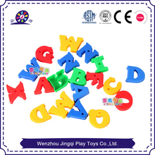 Cheap Toys Alphabet Plastic Material building blocks toys