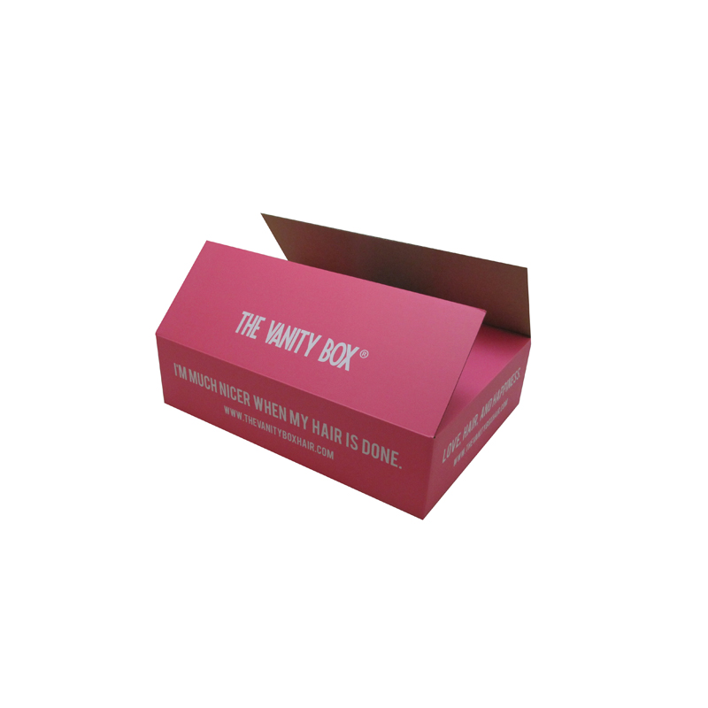 custom carton cardboard paper packaging corrugated box shipping packaging box