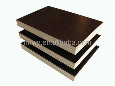 China cheap price 4*8 feet waterproof smooth & antislip film faced plywood