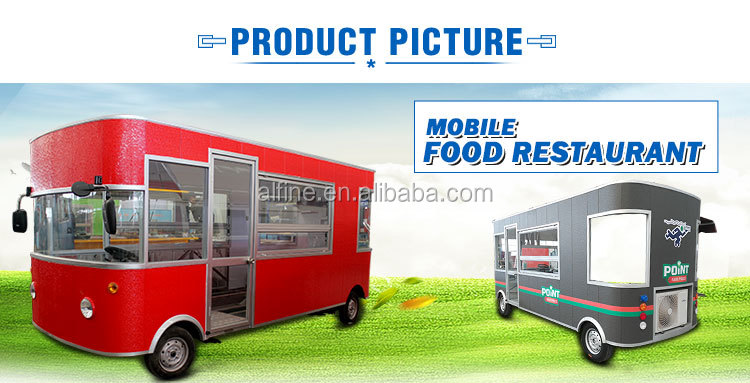 2019 hot selling mobile fast food cart food truck