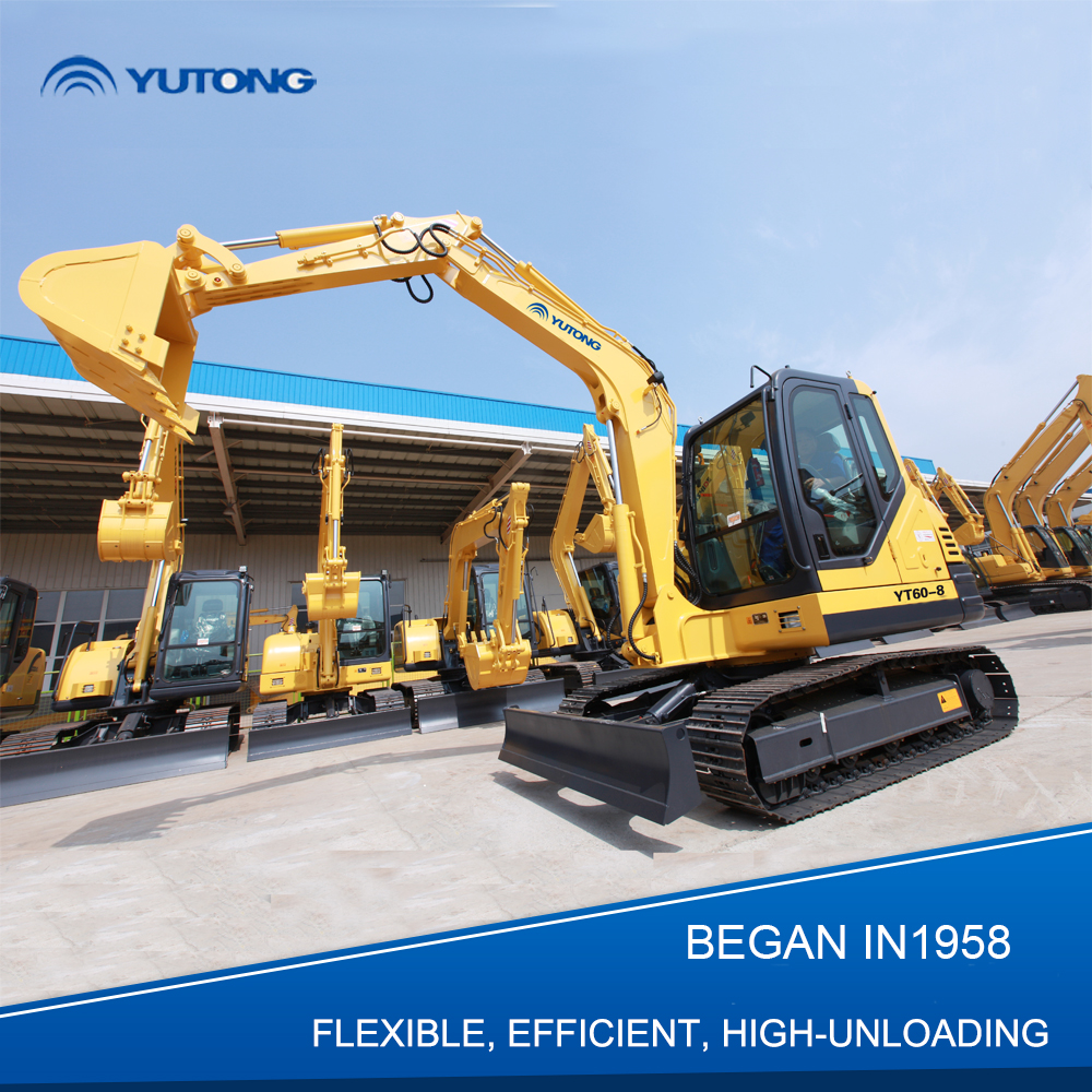 Chinese Cheap Walk Behind Mini Excavator For Sale