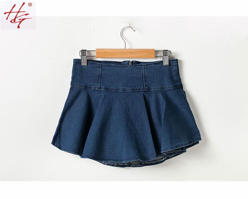 Denim Skirts - Street Style (1)