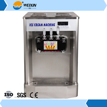 Cheap Price New type frozen commercial yogurt soft ice cream machine for sale