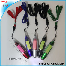 Hot Sale stationery Multi-function light ballpen with sticky