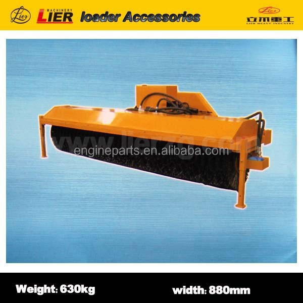 Lier loader with high quality Bevel cleaning machine (snow blowers)