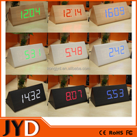 JYD- DAC04 2015 New Digital Wooden LED Alarm Clock, LED Wooden Digital Table Clocks For Promotion Gift