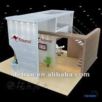 large international trade show, exhibition centre booth constract double deck booth