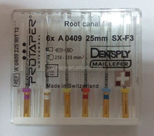 2017 Dentsply ProTaper Files for engine use with new packages /Best Dental super files/protaper Files Dentsply Dental
