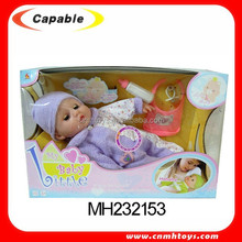 newest design cute 16 inch talking baby alive doll toy for selling
