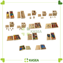 Montessori kids toys or educational materials Froebel Toys(13pcs)