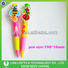 Custom Clip And Big Ball Pen For Promotion
