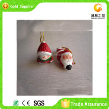 Factory Custom Lovely Christmas Ornaments Ceramic Snowman