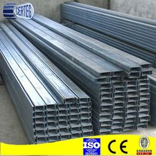 Hot Rolled Prime C Steel C Channel Weight Chart /Steel Construction Material Galvanized Z Purlin / Z Channel
