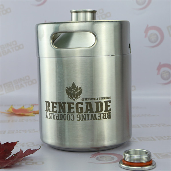 64OZ new design ss bottle for bactericidal spray machine for beer 3000bph