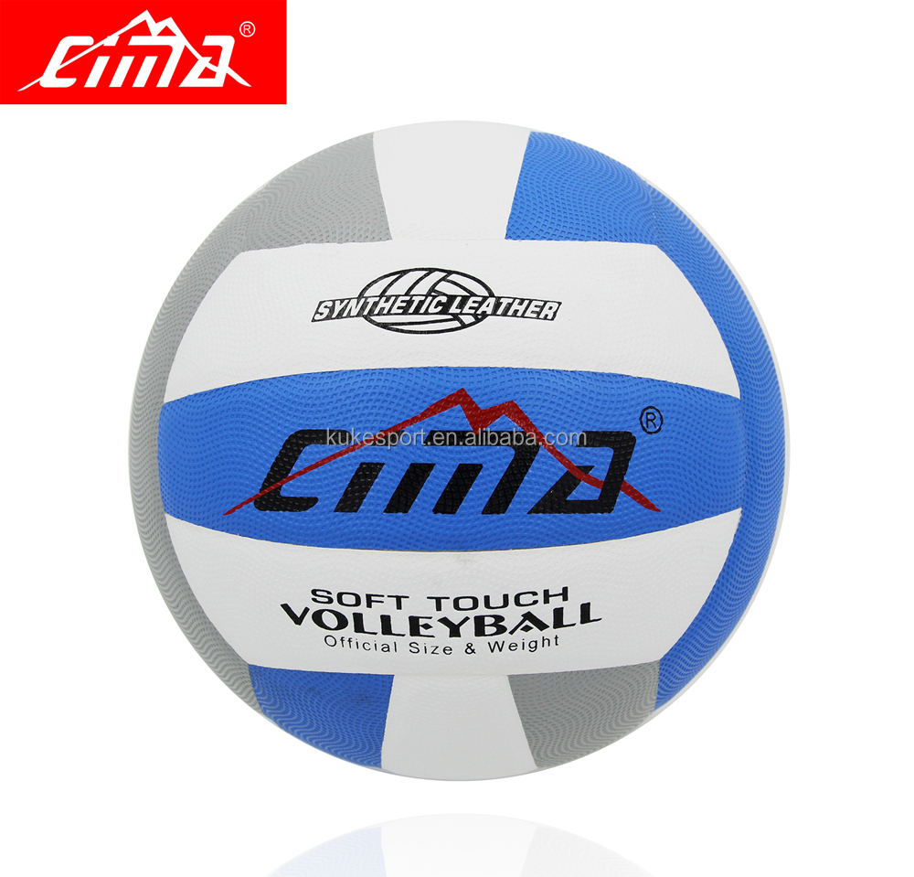 Sima Professional Volleyball blue gray Match Training Wear-Resisting Microfiber Laminated Wholesale Ball Volleyball