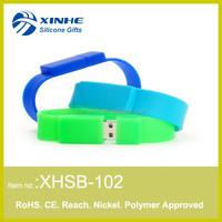 Silicone Wristband USB Flash DriveMemory Stick