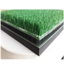 Golf driving hitting matten gel hitting mat, gras met rubber backing