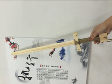 children outdoor toy wooden Animation swords