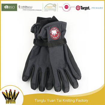 New style fashion top quality jacquard cheap winter goalkeeper gloves