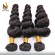 Manufacturer wholesale body wave brazilian remy human hair extension with cheap price
