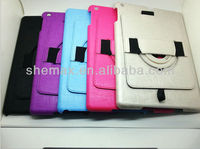 For ipad air pu bumper case ,For ipad air carrying case with shoulder strap