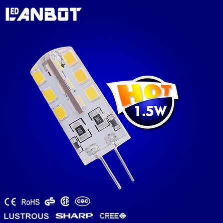 Europe most Popular LANBOT factory 12V ce GY6.35 led light bulb gy6.35 Crystal lamp gy6.35 led Auto lamp dimmable GY6.35