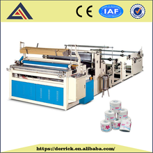 China cheap small waste paper toilet tissue making machine