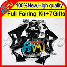 Body For HONDA CBR600RR Gloss black CBR600 RR F5 13 14 28CL36 CBR 600RR 600 RR Stock black 2013 2014 Injection 13-14 Fairing
