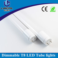 AC230V T8 fluorescent tube lamp 4100k 19w, ip44 t8 Led Tube 6500K