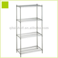 NSF and ISO approved plastic cover kitchen shelf rack