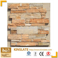 Canada cement slate panels Stone retaining wall