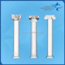 Hotel and Shopping Mall Classic Decoration GRC Roman Columns