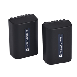 Battery manufatuer 1500mAh Dual IC design CAMERA Battery FV70 NP-FV70 for HDR-CX220 CX230 CX290