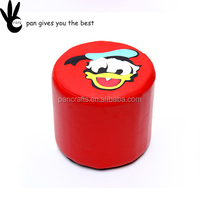 Pan cute cartoon home use laboratory cheap children's wooden stool