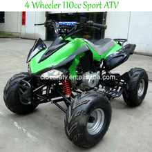 Cheap Electric Start Petrol 110CC Quad Sport ATV with Reverse Gear