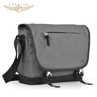 Fashion Simple Grey Messenger Style bag man