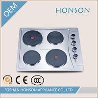 China Good price SS panel electric plate built in gas stove hob HS4518E4