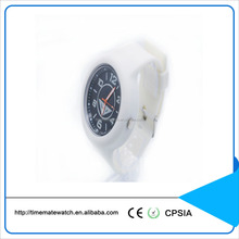Various color custom design sweet beautiful silicon watches silicone watch