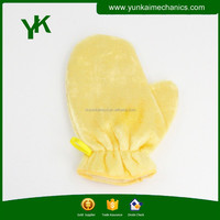 Wood fiber cleaning cloth dishwashing gloves oil resistant gloves