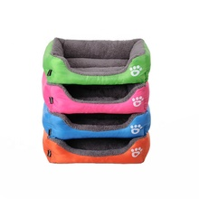 High Quality Waterproof Cotton Pet Dog Bed