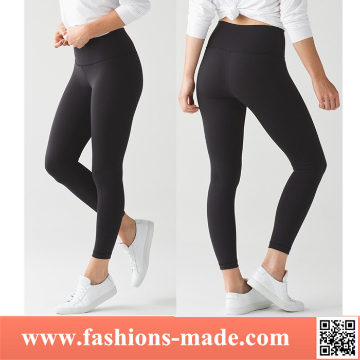 Top Quality Custom Women Nylon Spandex Gym Pants Fitness Yoga Pants Leggings